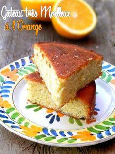 Gâteau à l'orange super moelleux et bien parfumé!