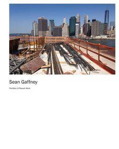 Sean Gaffney Portfolio of Recent Work