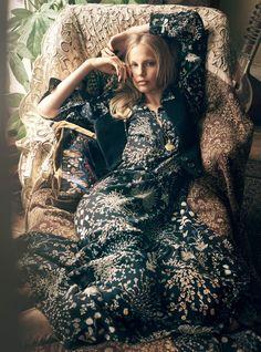 Elisabeth Erm by Regan Cameron for Harper`s Bazaar UK October 2015 2