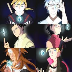 Team Konohamaru and InoShikaCho Trio - Boruto: Naruto Next Generations