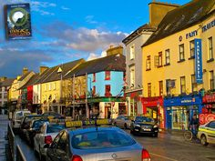 """Damp day in Galway city--we still love it though :-) """"The Magic of Ireland"""""""