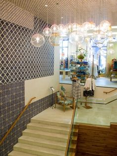 Also nice mix of materials  - Anthropologie