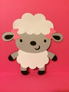 Little Lamb Invitation by PerfectLilParty on Etsy