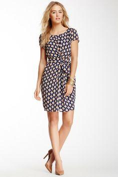 Yumi London Geo Print Pleated Dress by Non Specific on @HauteLook