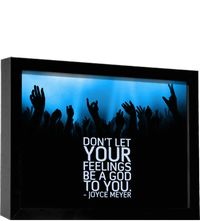 """joyce meyer quotes   Quote by Joyce Meyer: """"Don't let your feelings be a God to you."""" (1/11 ..."""