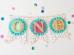 Confetti Sprinkles High Chair Cake Smash by APopofConfettiCo