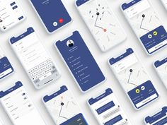 Bingo App UI Kit walktrough typography texi service app texi booking app taxi booking app taxi app r Web Design, App Ui Design, Mobile App Design, Interface Design, Design Taxi, Graphic Design, Android App Design, Android Ui, Dashboard App
