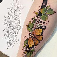 Savage Sunday is the day we post international tattoo artist Amazing work by ➡️ Made @ ➡️ 🙏🏻 tag, like,… Arm Tattoo, Knife Tattoo, Piercing Tattoo, Tattoo Life, Dagger Tattoo, Samoan Tattoo, Polynesian Tattoos, Body Piercings, Tattoo Flash