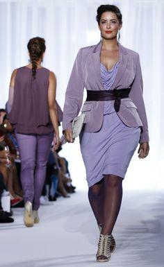 Plus Size Model. London Plus Size Fashion Week.