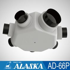 6 way air to air heat exchanger energy recovery ventilator air flow distributor for HVAC parts AD-66P