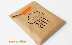 Kraft Brown Merchandise Bags for Party Favors or Gift Wrapping Kawaii 5 x 7 1/2 on Etsy, $4.50