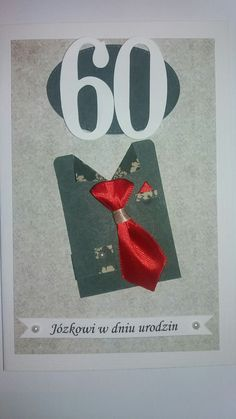 60th birthday card for men