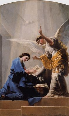 Annunciation, 1785 - Francisco de Goya -There are no words to describe the beauty of this painting. Blessed Mother Mary, Blessed Virgin Mary, Catholic Art, Religious Art, Archangel Gabriel, Queen Of Heaven, Mama Mary, Holy Mary, Angels Among Us