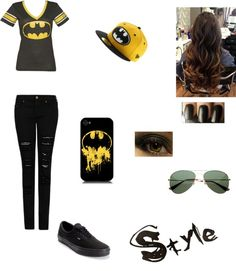 """""""BATMAN!!!!"""" by beatrizgirl ❤ liked on Polyvore"""