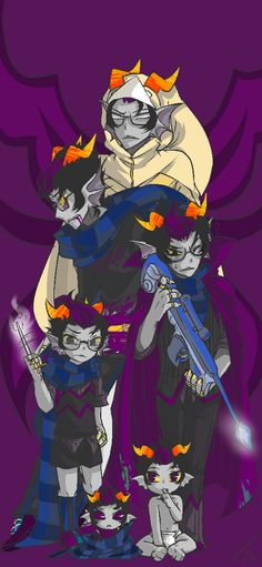 eridan ampora his growwth complete picture next is… ————————————————— Long time no see~~ Oh, of course the growth picture. Was delayed two months. sorry… ——Growth picture (Complete)—— [Gamzee...