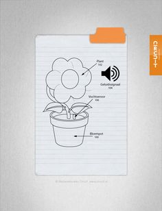 Je houdt van kamerplanten en bloemen, maar vergeet ze water te geven. Hier is de vochtsensor. Deze steek je in de bloempot en als het vochtpercentage in de bloempot daalt onder een bepaald niveau dan begint de sensor een willekeurig geluidsbestandje af te spelen zodat de plant water kan krijgen. Het is dan wel raadzaam om een irritant muziekje te gebruiken anders geven de mensen de planten geen water meer omdat ze graag de zingende bloempot willen horen.
