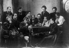 Checkhov reads.  idlesuperstar:    Chekhov reading The Seagull to the company of the Moscow Arts Theatre