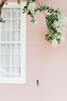 light pink and white house #pinkaesthetic #pink #pinkhouse