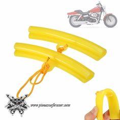 2X Útiles de Plástico Para Desmontar Rueda Desmontadores de Neumáticos Rueda Moto Color Amarillo -- 6,46€