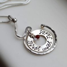 Birth With Faith Pregnancy Necklace Midwife Doula