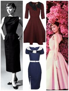 Audrey Hepburn style dresses on sale - My Fair lady inspiration