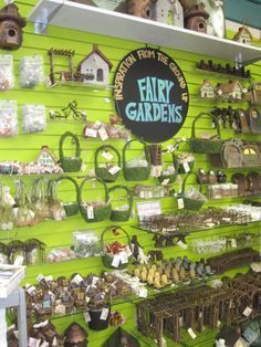 Building a fairy garden part 3.  There are so many fairy garden accessories to choose from!