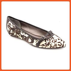 Kenneth Cole REACTION Women's Uptown Girl Flat (7.5, Dalmation) - Flats for women (*Amazon Partner-Link)