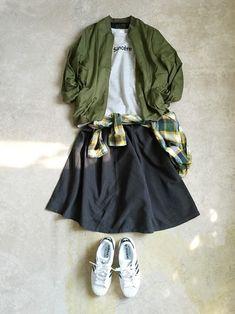 ナチュラル服のイタフラ │italie to franceのブルゾンコーディネート-WEAR