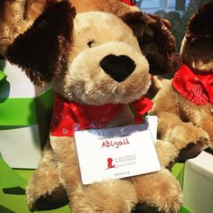 Learning about the amazing range of products available this holiday season to benefit St. Jude Children's hospital. There is something here for everyone on your holiday shopping list - including this adorable puppy inspired by a patient. @stjude