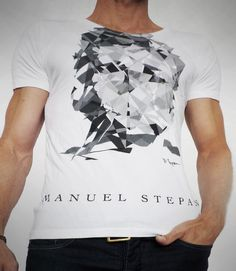 JAMES DEAN BW #evolution15 by Manuel W. Stepan Art Series, James Dean, Evolution, Mens Tops, T Shirt, Fashion, Tee, Moda, La Mode