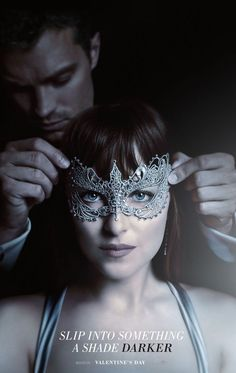 This #Valentine's Day, slip into something a shade darker.   Fifty Shades Darker - In Theaters #Valentine's Day 2017.
