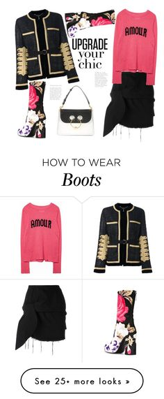 """Happy Galantines Girlies! ❤❤😘😘😘"" by hattie4palmerstone on Polyvore featuring MSGM, Givenchy, Marques'Almeida and J.W. Anderson"