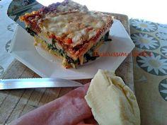 Lasaña de polenta y acelgas. Una forma distinta de preparar este plato italiano