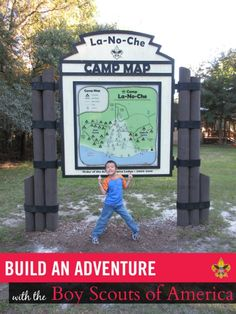 Our First Adventure with Boy Scouts of America #BuildAnAdventure #BoyScouts #sponsored | SavingSaidSimply.com