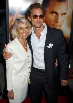 Pin for Later: Kennt ihr schon die Mütter der Stars? Matthew McConaughey