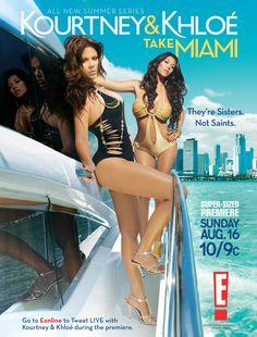 Kourtney & Khloe Take Miami 2009-2010