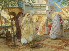 The Port of Algiers by Frederick Arthur Bridgman | Flickr - Photo Sharing!