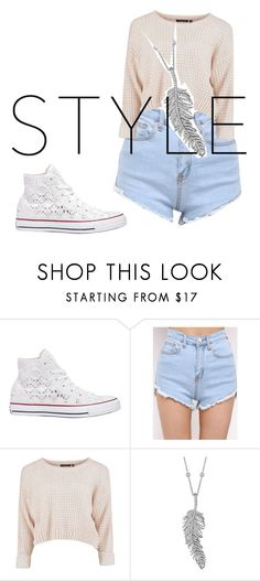 """""""Untitled #132"""" by martina-cmv on Polyvore featuring Converse and Penny Preville"""