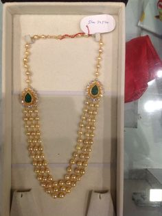 Necklace pearls 30 Gms
