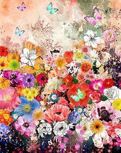 csera surface design : HORTICOUTURE I Stretched Canvas | Sumally