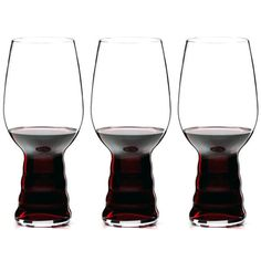 afff40d8ad3e Riedel   O   Series Red or White Wine Glass 3pc Set Glasses
