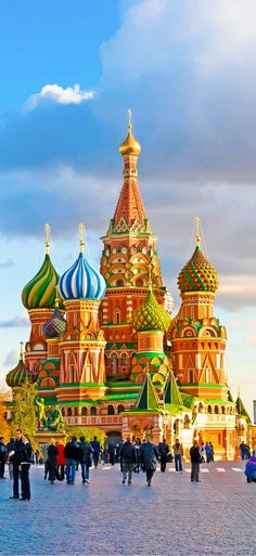 St. Basils Cathedral- Moscow, Russia                                                                                                                                                                                 More