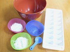 Aprende a hacer acuarelas caseras para que tu niño se divierta pintando. Es  súper fácil de hacer.