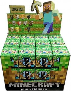 Minecraft Mattel Mystery Mini Figure BOX [36 Packs] Mattel http://www.amazon.com/gp/product/B00O3L9N8W/ref=as_li_qf_sp_asin_il_tl?ie=UTF8&camp=1789&creative=9325&creativeASIN=B00O3L9N8W&linkCode=as2&tag=acenorris09-20&linkId=2TA5FHLGIXRK5ZJA