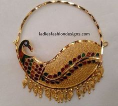 Bridal beautiful look nose ring nath designs - Fashion Beauty Mehndi Jewellery Blouse Design