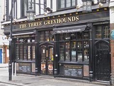 The Three Greyhounds, Soho, by Robby Virus, via Flickr