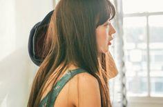 Korean Model, Aesthetic Fashion, Cute Girls, Korean Fashion, Braids, Long Hair Styles, Park, Beauty, Blog