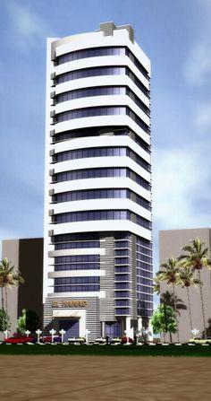 Al hamad office building, kuwait