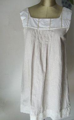 Custom Linen Tunic dress. Loose Shift dress for women. by JTrove, $89.00