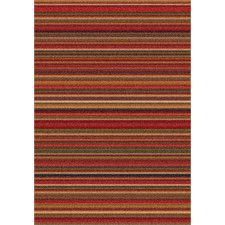 Modern Times Canyon Dark Red Area Rug